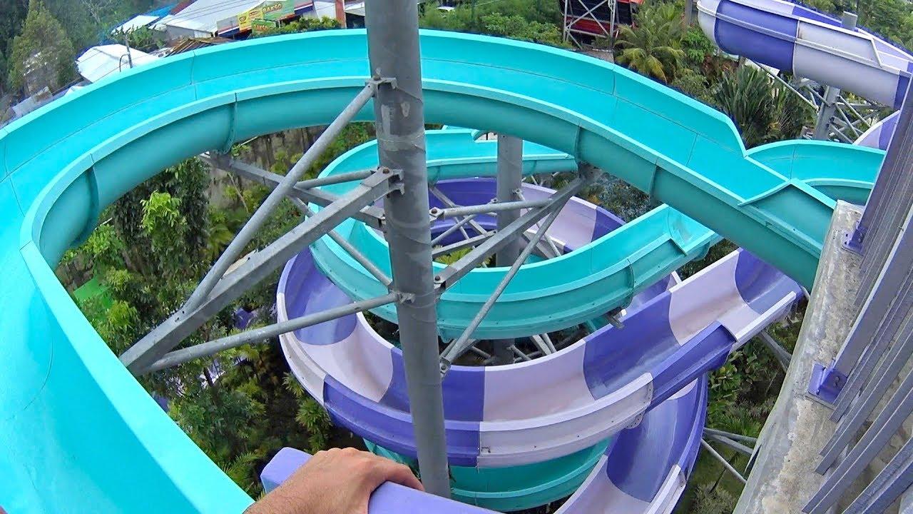 Timo Water Slide Jogja Bay Waterpark Youtube Pirates Adventure Kab