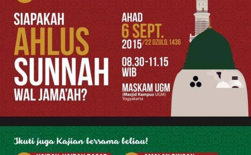 Kajian Umum Bersama Ustadz Badrusalam Lc Yogyakarta 4 6 September