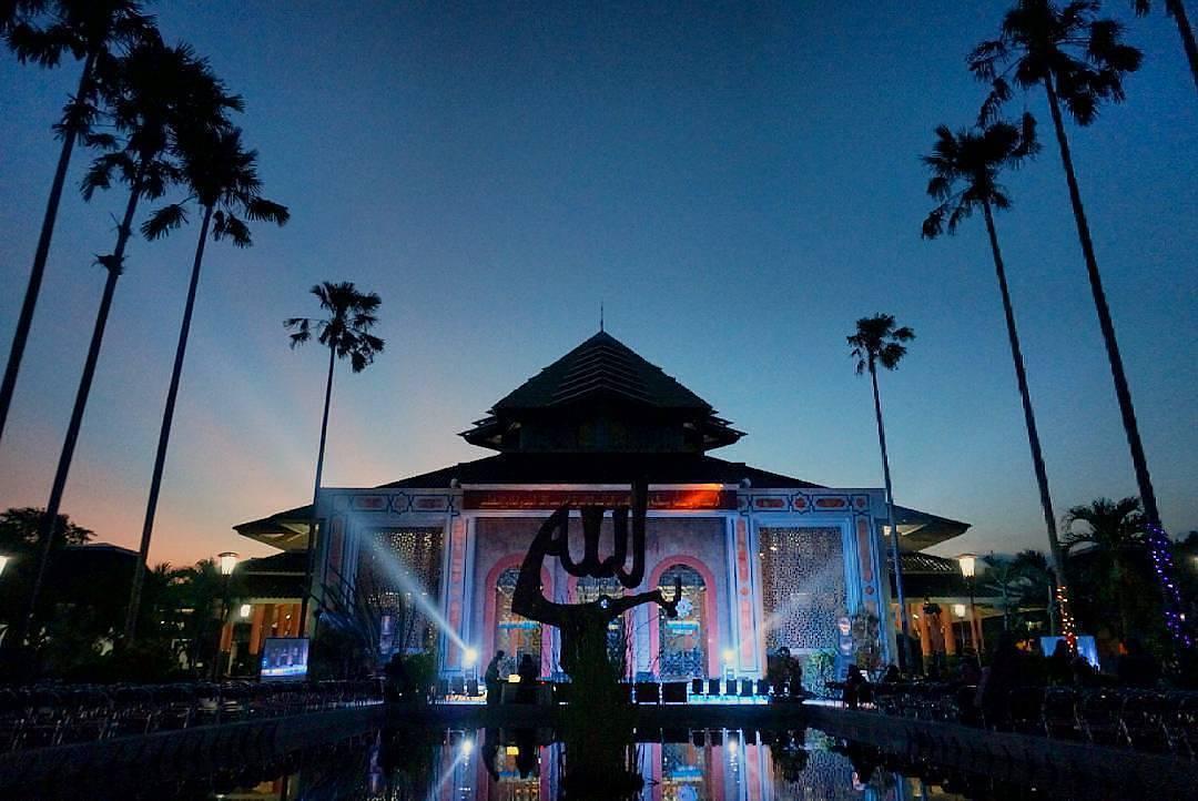 Masjid Jogja Memberikan Buka Gratis Musafir Mampir Kampus Ugm Maskam
