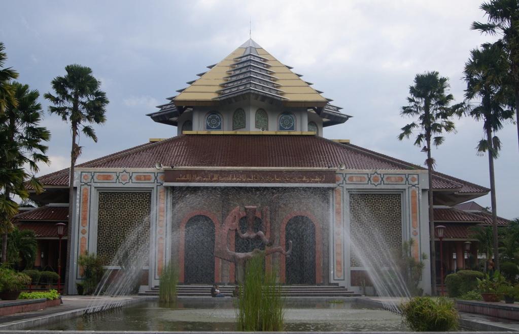 Masjid Kampus Ugm Wisata Yogyakarta Akulturasi Berbagai Budaya Maskam Kab