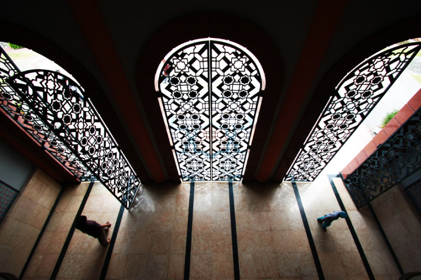 Mengagumi Arsitektur Masjid Kampus Ugm Wisata Yogyakarta Maskam Kab Sleman