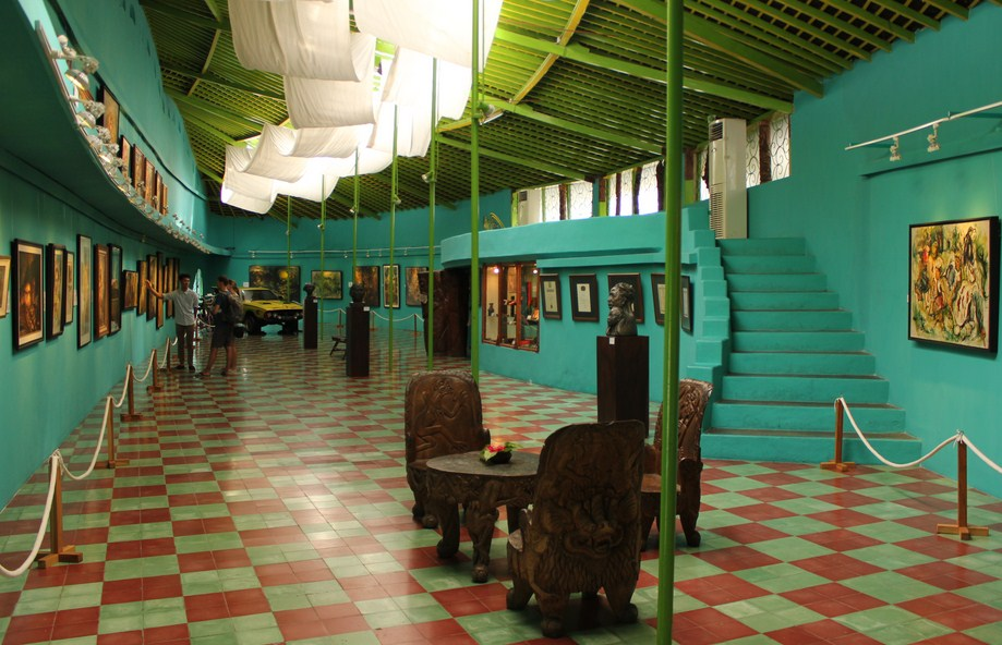 Affandi Painting Museum Yogyakarta Jogja Backpacker Guide Visit Kab Sleman