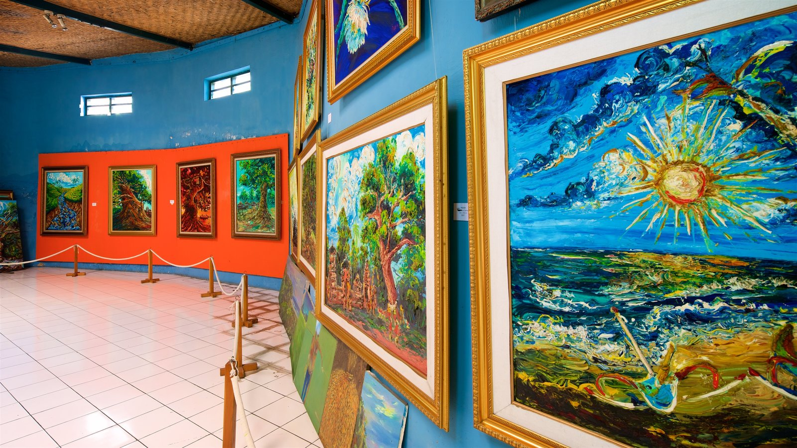 Art Pictures View Images Affandi Museum Showing Interior Views Kab