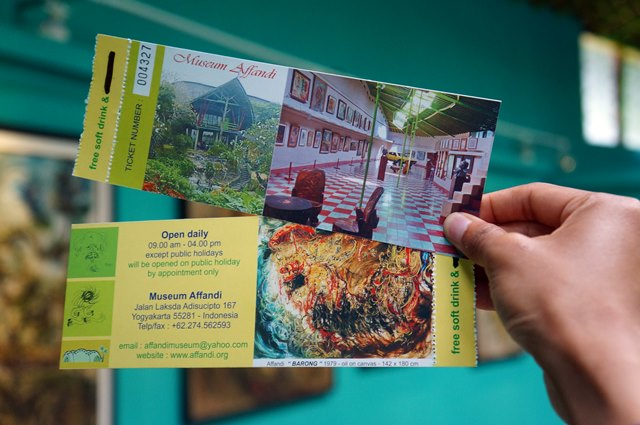 Enjoying Beautiful Arts Affandi Museum Idbackpacker Location Easy Find Tickets