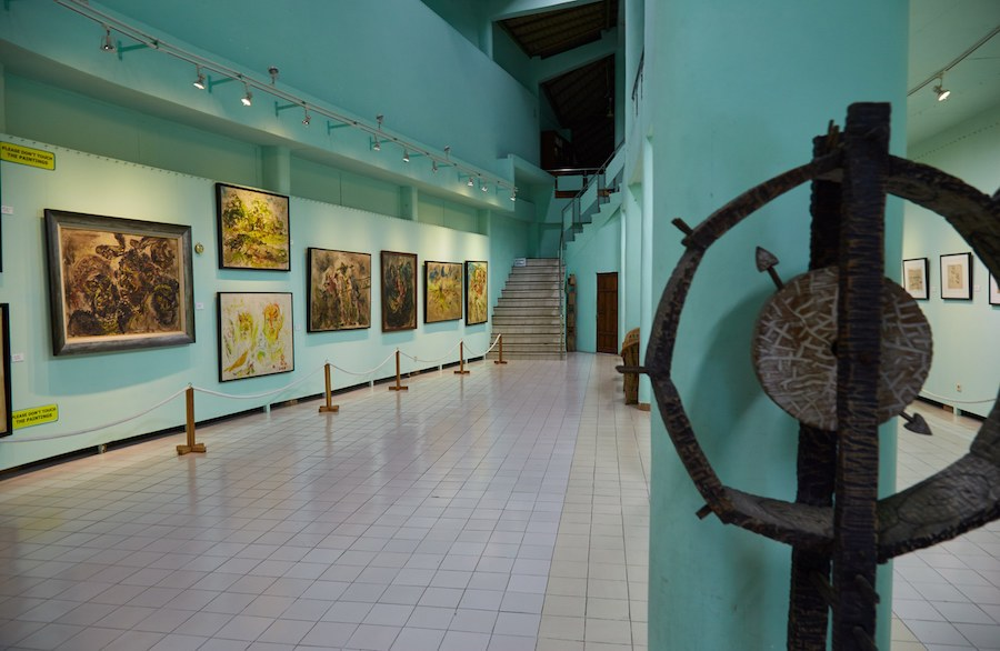 Guide Yogyakarta Art Spaces Sailingstone Travel Museum Affandi Gallery Kab