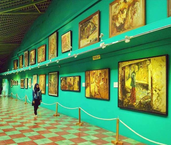 Letak Lokasi Harga Tiket Masuk Museum Affandi Lukisan Afandi Kab