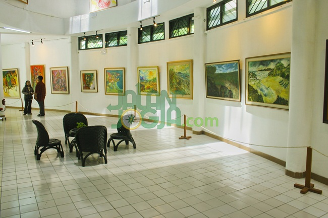 Menengok Istana Maestro Indonesia Museum Affandi Jalanjogja 1 Kab Sleman
