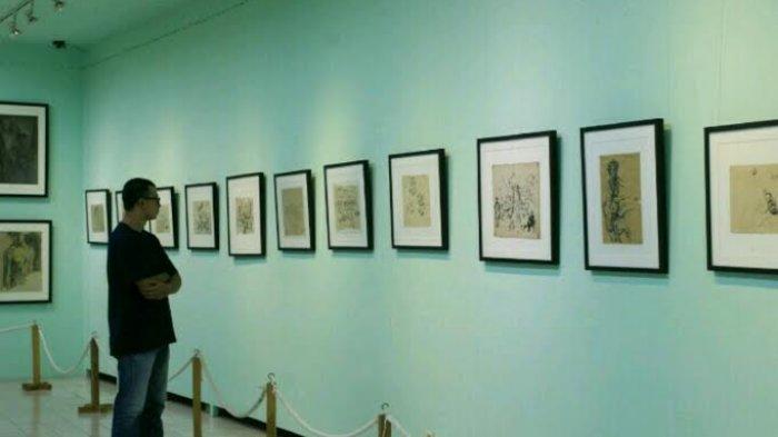 Menikmati Lukisan Karya Maestro Museum Affandi Kab Sleman