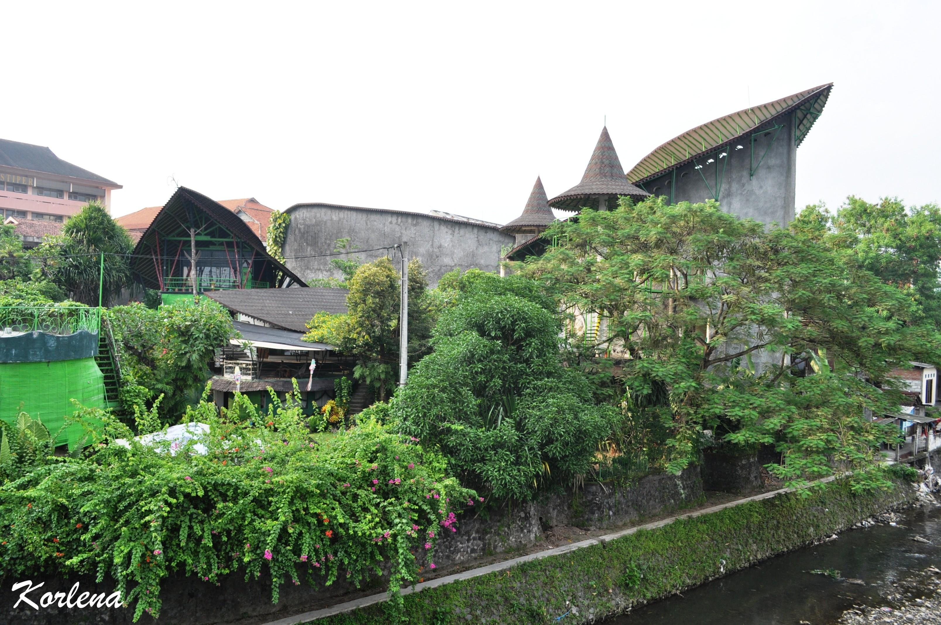 Museum Affandi Lukisan Maestro Indonesia Urban Rural Tepi Sungai Gajah
