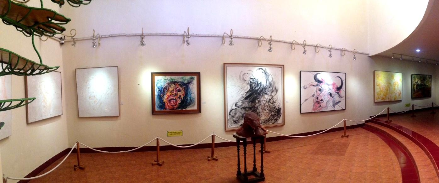 Museum Affandi Mengasah Imajinasi Selembar Daun Pisang Ceritaeka Kab Sleman