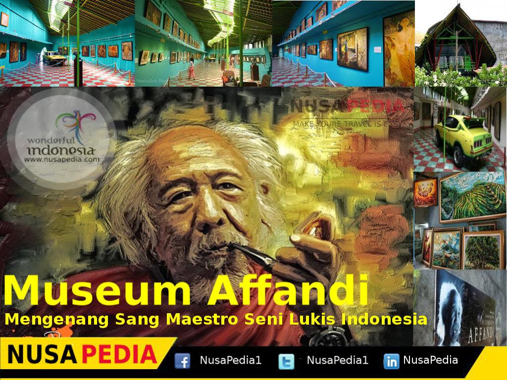 Museum Affandi Mengenang Maestro Seni Lukis Indonesia Kaskus Kab Sleman