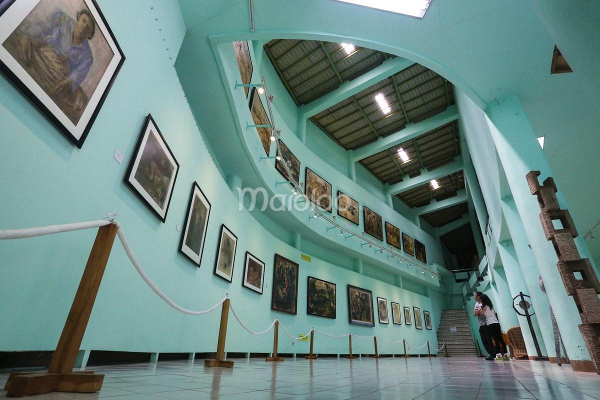 Museum Affandi Sanctuary Pribadi Maestro Lukis Galeri Ii Yogyakarta Kab