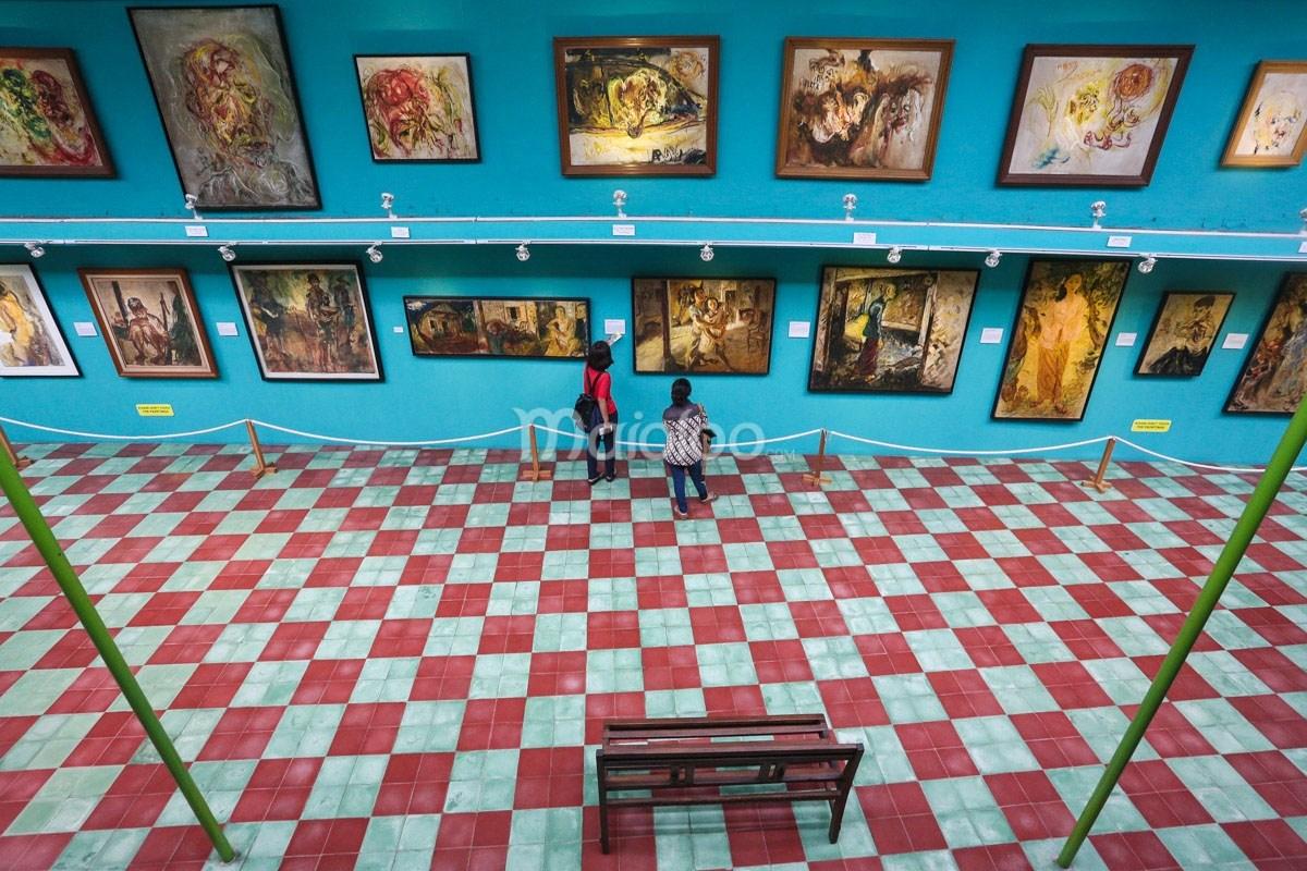 Museum Affandi Sanctuary Pribadi Maestro Lukis Galeri Yogyakarta Kab Sleman