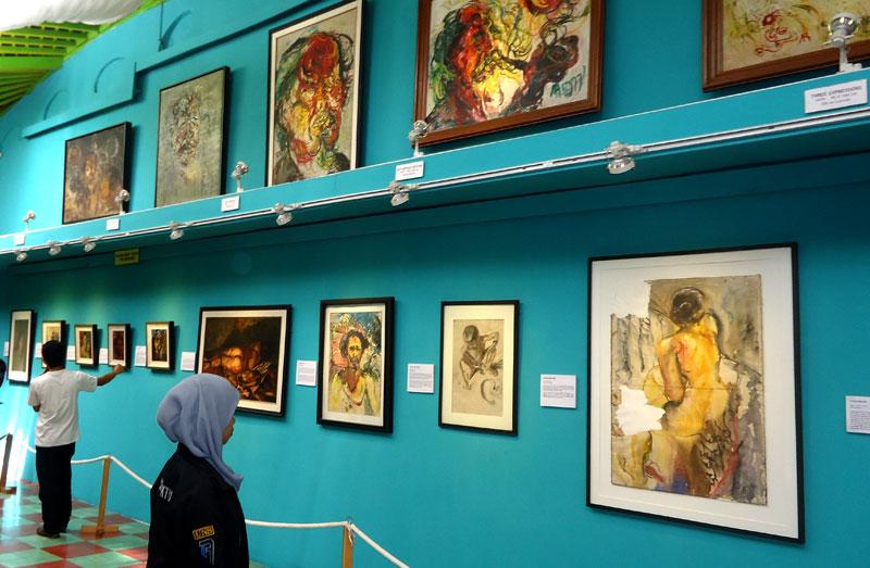 Museum Affandi Wisata Seni Yogyakarta Creative Entrepreneur Koleksi Lukisan Kab