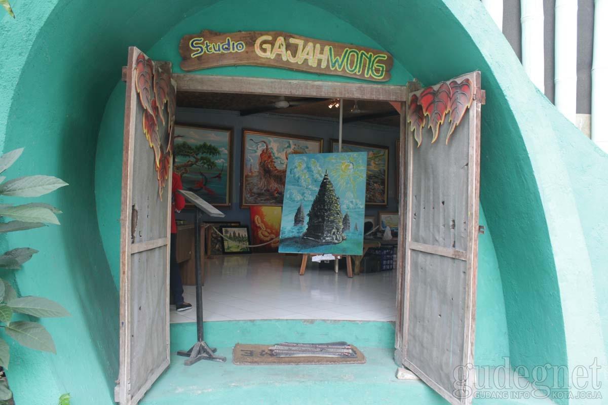 Museum Lukis Affandi Yogyakarta Yogya Gudegnet Studio Gajah Wong Kompleks