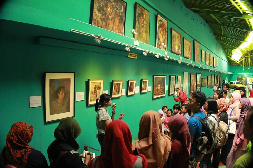 Serunya Family Day Acara Asik Museum Affandi Wisata Yogyakarta Kab