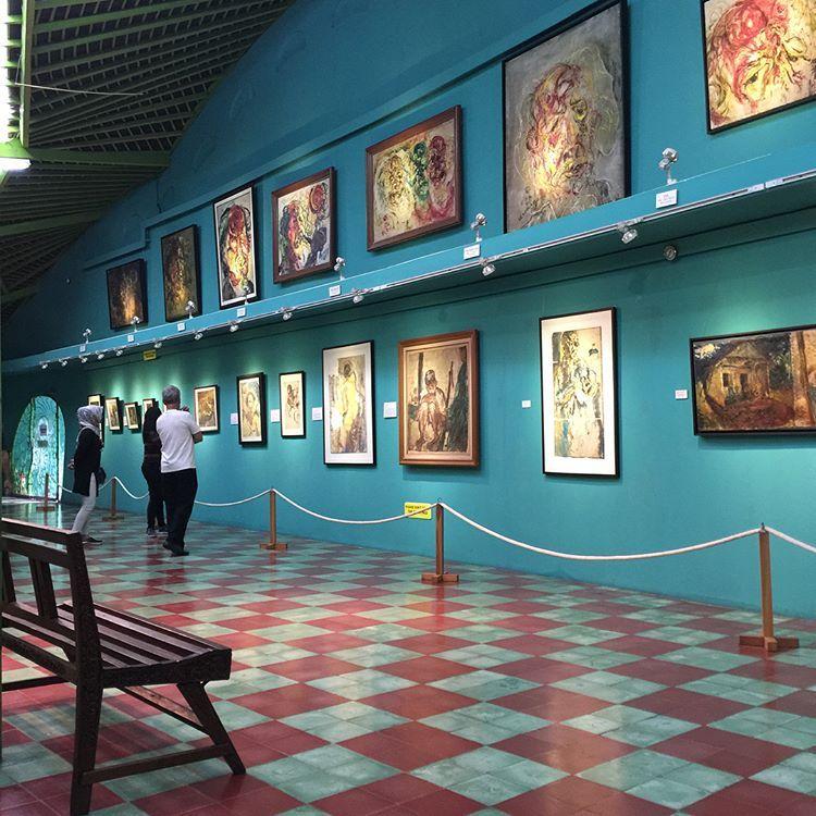 Wisata Jogja Museum Affandi Menikmati Hasil Karya Mestro Yogyakarta Sumber