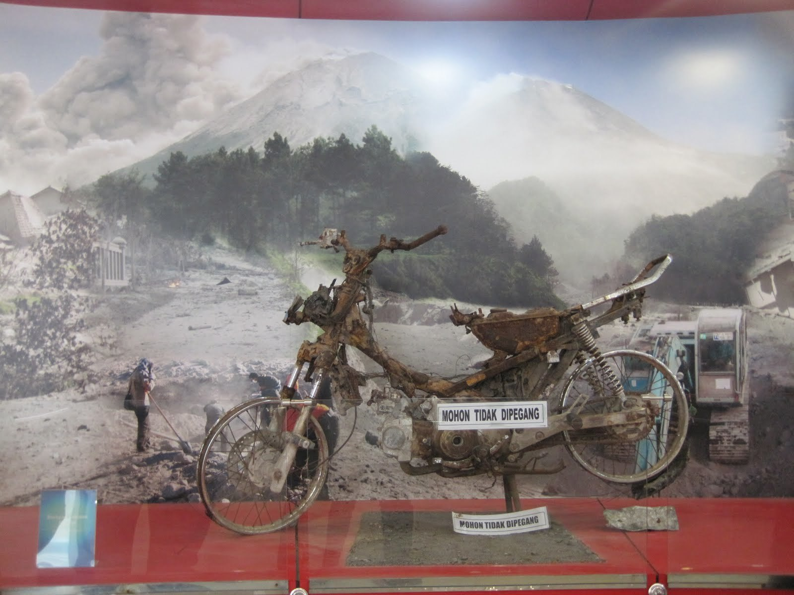 Mount Merapi Museum Yogyakarta Attraction Copy Ardiani Theodora Gunung Api