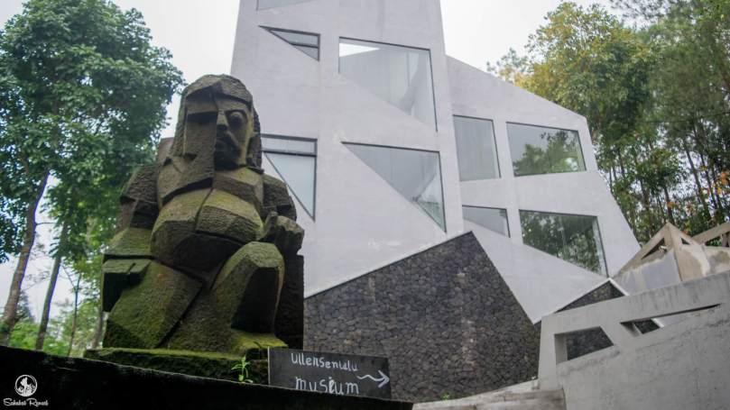 Ullen Sentalu Sejuknya Alam Membungkus Romantisnya Sejarah Museum Kab Sleman