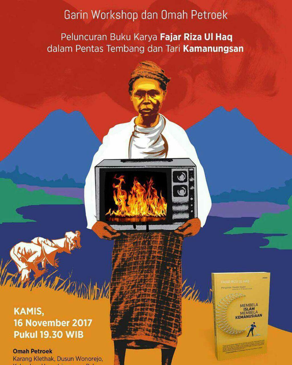 Garin Workshop Omah Petruk Yogya Gudegnet Peluncuran Buku Karya Fajar