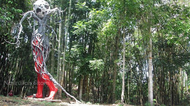 Membidik Patung Omah Petruk Sleman Nasirullah Sitam Rumah Budaya Kab
