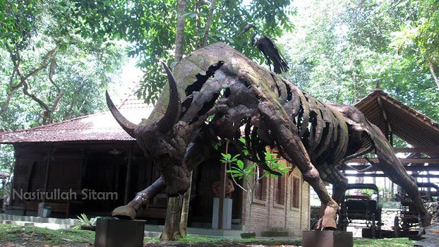 Membidik Patung Omah Petruk Sleman Nasirullah Sitam Yogyakarta Rumah Budaya