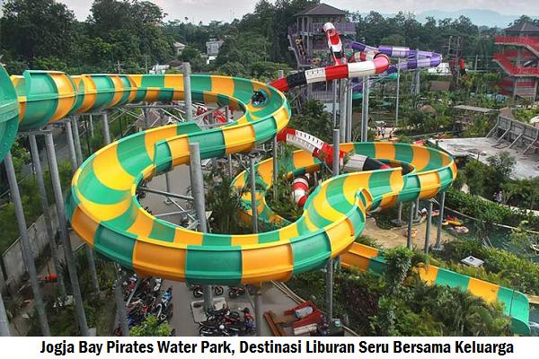 Jogja Bay Pirates Water Park Destinasi Liburan Seru Bersama Wahana