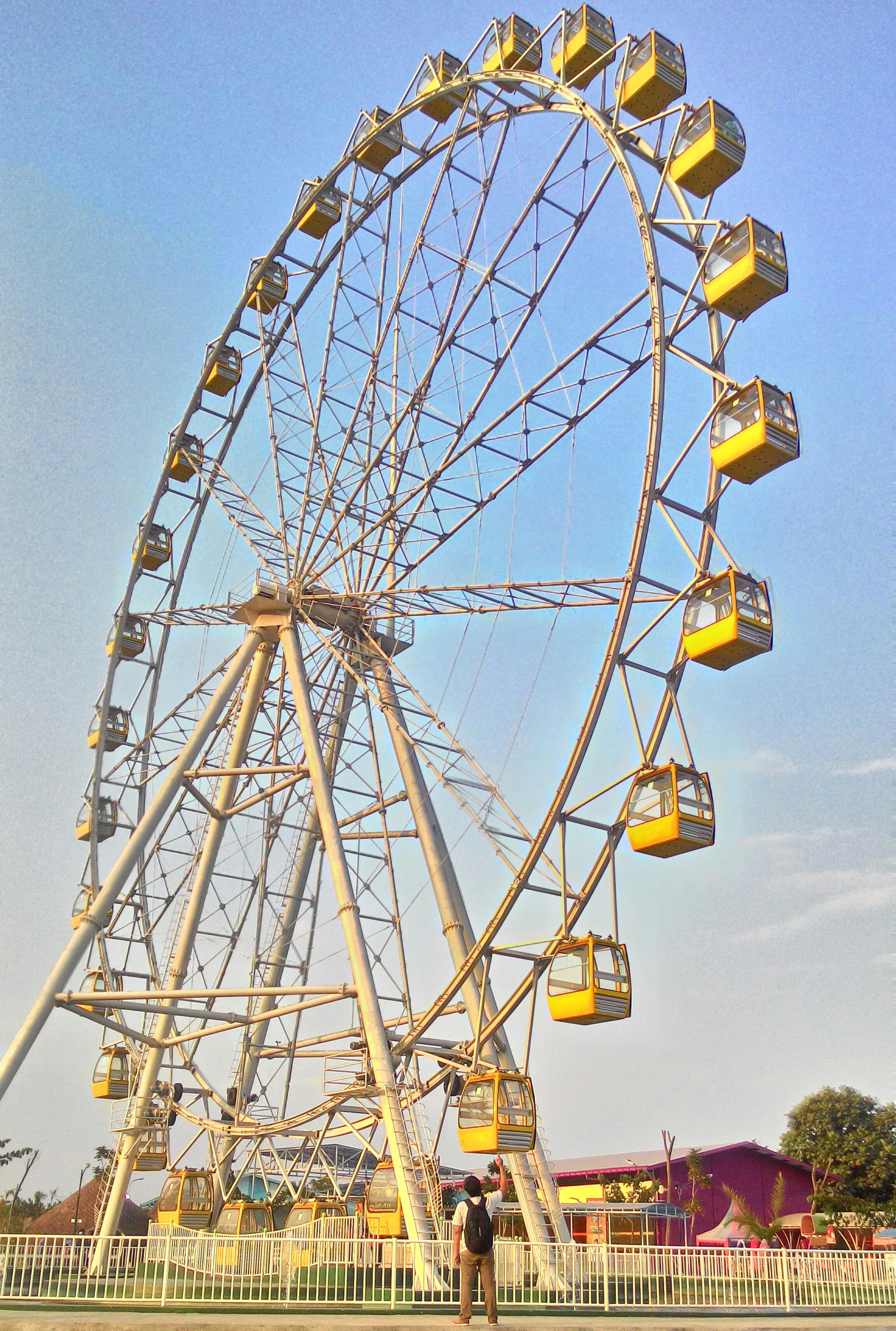 Jogja Punya Themepark Sindu Kusuma Edupark Kubikel Bianglala Park Yogyakarta