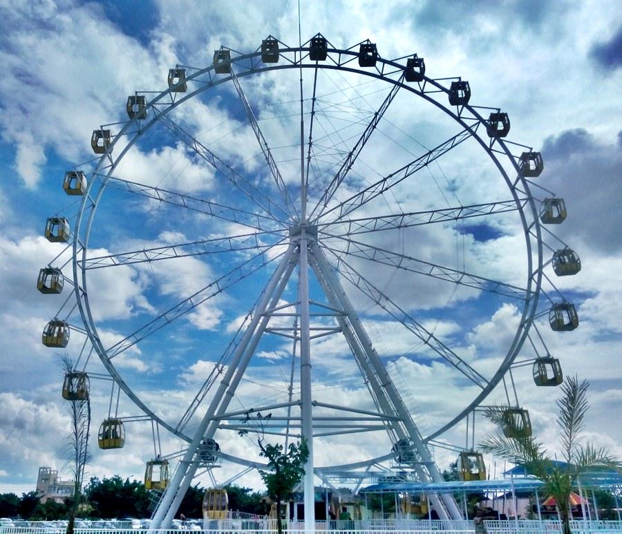 Mengisi Weekend Sindu Kusuma Edupark Catatan Kecil Simple Ferriswheel Park