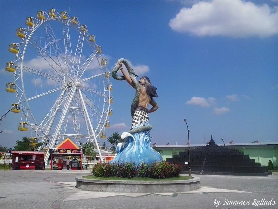 Sinduadi Kusuma Edupark Wisata Jogja Menyajikan Bianglala Raksasa Sindu Park