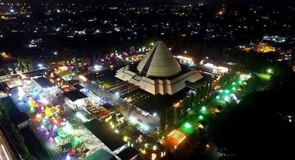Cantiknya Festival Lampion Monumen Jogja Kembali Malam Hari Taman Pelangi