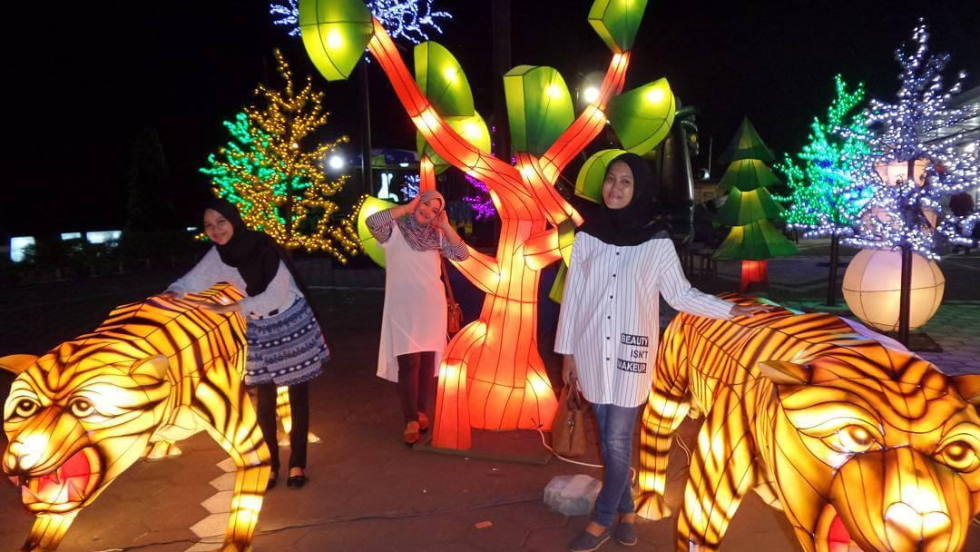 Harga Tiket Rute Lokasi Taman Pelangi Monjali Wisata Lampion Yogyakarta