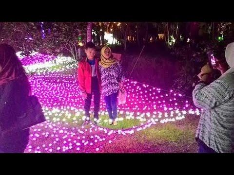 Miris Turis Foto Tengah Kabel Lampu Taman Lampion Kaliurang Youtube