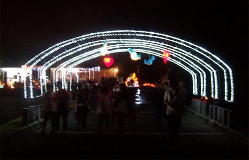 Monumen Yogya Kembali Wisata Malam Taman Lampion Monjali Harga Tiket