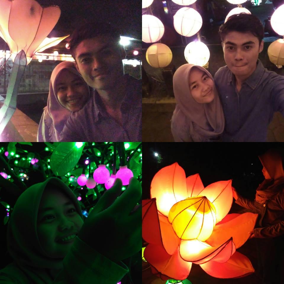 Taman Pelangi Keindahan Warna Warni Malam Yogyakarta Lihat Id Jogja