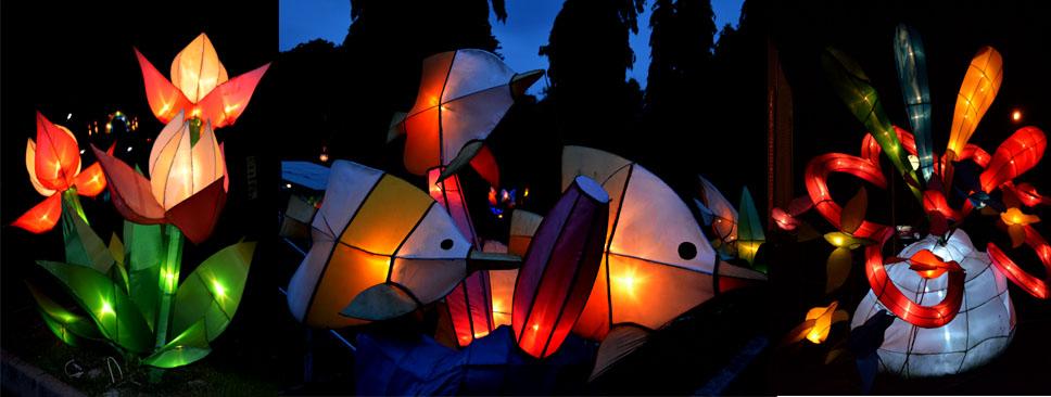 Taman Pelangi Tempat Berkumpulnya Lampion Unik Jogja Yogyakarta Kab Sleman