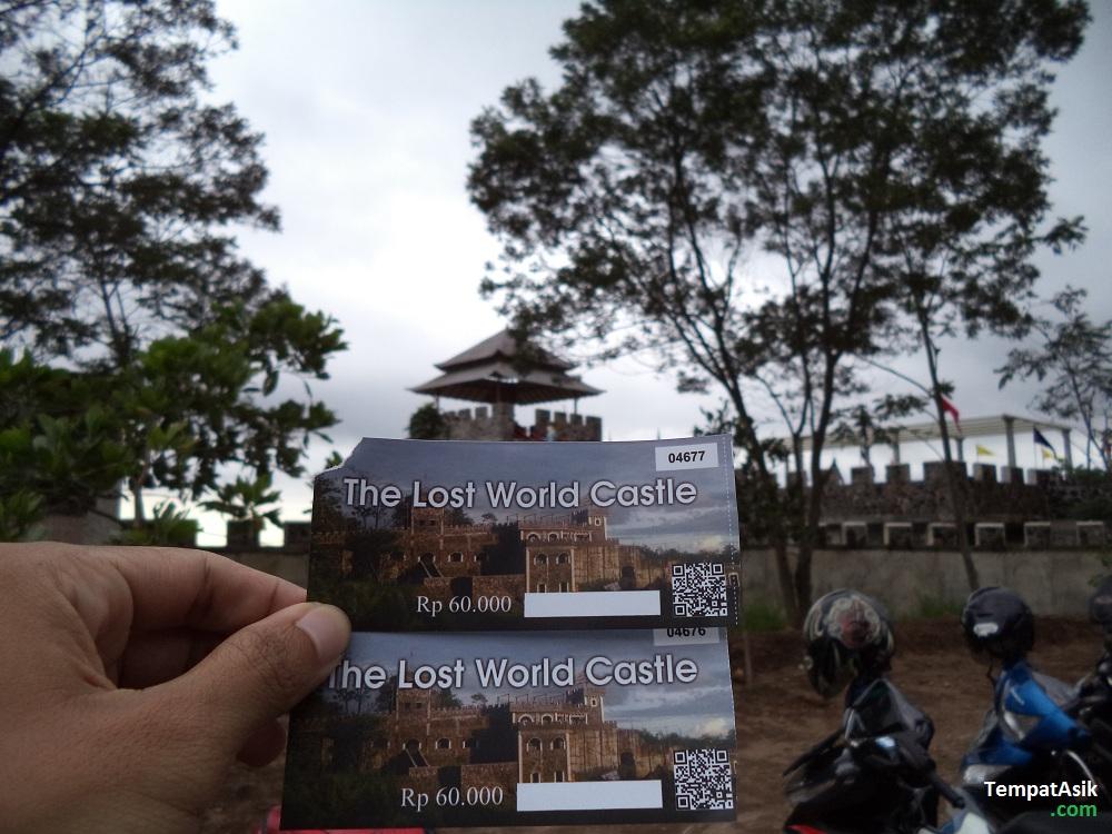 Tiket Masuk Lost World Castle Tempat Asik Kab Sleman