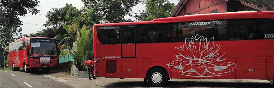 Selamat Datang Omah Salak Kunjungan Luar Daerah 2 Bus Besar