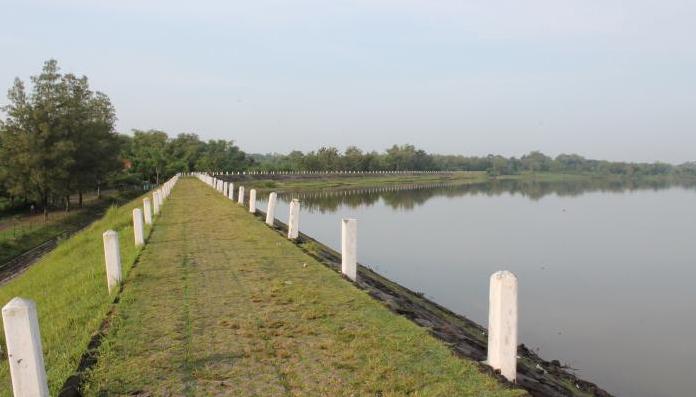 10 Tempat Wisata Alam Sragen Waduk Blimbing Betisrejo Kab