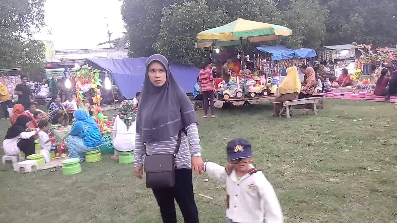 Rafa Zaki Jalan Alun Kota Sragen Youtube Wisata Kab