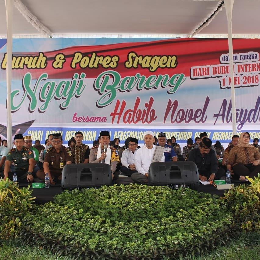 Tips Kaya Raya Habib Pengajian Hari Buruh Alun Sragen Wisata