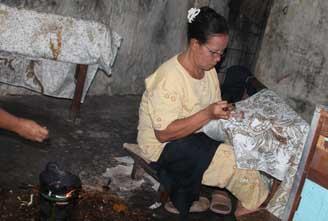 Batik Informasi Umkm Kabupaten Sragen Broto Joyo Wisata Dewi Arum