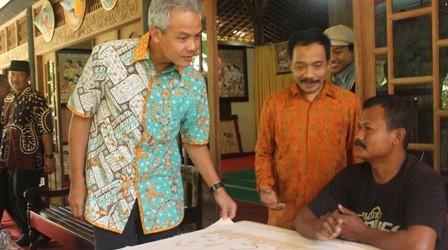 Batik Informasi Umkm Kabupaten Sragen Gubernur Jateng Tinjau Ikm Wisata