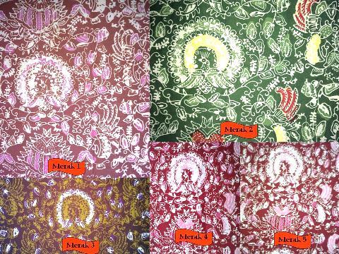 Galeri Batik Sukowati Cap Wisata Dewi Arum Kab Sragen