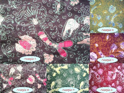 Galeri Batik Sukowati Menyediakan Berbagai Macam Cap Printing Maupun Tulis