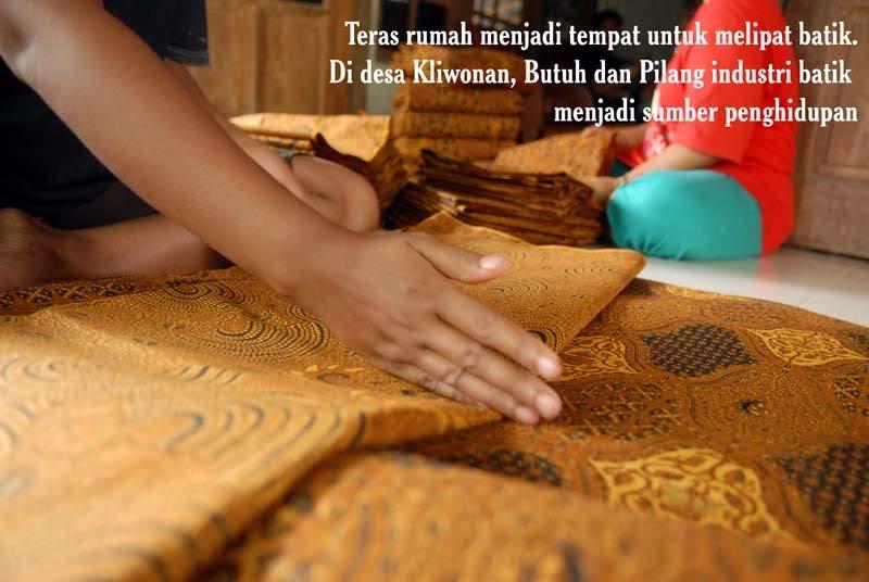 Wisata Belanja Kampung Batik Kliwonan Sragen Dewi Arum Kab