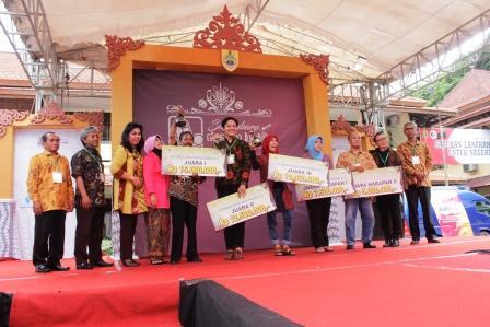 Admin Bumd Pemenang Lomba Batik Wisata Galeri Sukowati Kab Sragen