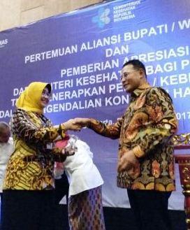 Berkat Perda 1 2011 Sragen Peroleh Penghargaan Pastika Parahita Wisata