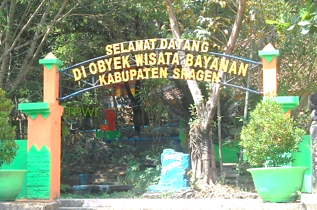 Wisata Indonesia Permandian Air Panas Bayanan Ganesha Technopark Kab Sragen