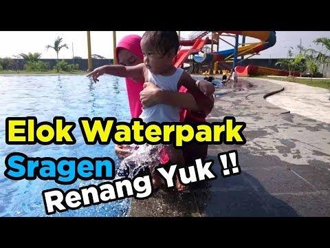 Sansa Pergi Kolam Renang Elok Water Park Sragen Youtube Wisata